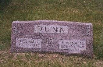 DUNN, LURENA M SCULLEN - Clinton County, Iowa | LURENA M SCULLEN DUNN