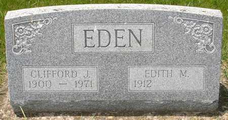EDEN, EDITH M. - Clinton County, Iowa | EDITH M. EDEN