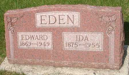EDEN, EDWARD - Clinton County, Iowa | EDWARD EDEN