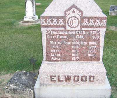 ELWOOD, JAMES - Clinton County, Iowa | JAMES ELWOOD