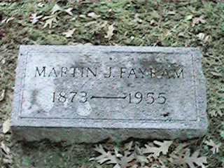 FAYRAM, MARTIN J - Clinton County, Iowa | MARTIN J FAYRAM
