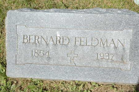 FELDMAN, BERNARD - Clinton County, Iowa | BERNARD FELDMAN