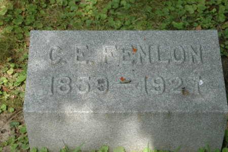 FENLON, CHARLES E. - Clinton County, Iowa | CHARLES E. FENLON