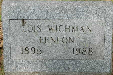 WICHMAN FENLON, LOIS D. - Clinton County, Iowa | LOIS D. WICHMAN FENLON