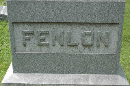 FENLON, MONUMENT - Clinton County, Iowa | MONUMENT FENLON