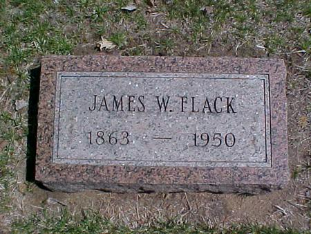 FLACK, JAMES W. - Clinton County, Iowa | JAMES W. FLACK