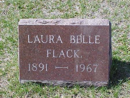 FLACK, LAURA BELLE - Clinton County, Iowa | LAURA BELLE FLACK