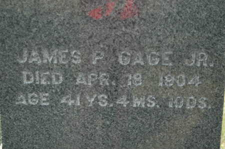 GAGE, JAMES P. - Clinton County, Iowa | JAMES P. GAGE