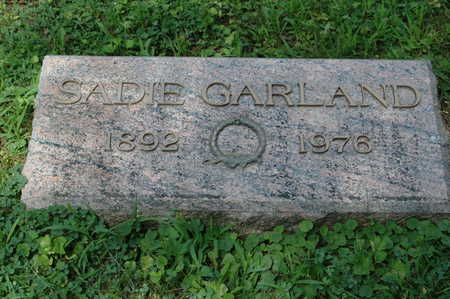 GARLAND, SADIE - Clinton County, Iowa | SADIE GARLAND