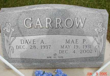GARROW, MAE P. - Clinton County, Iowa | MAE P. GARROW