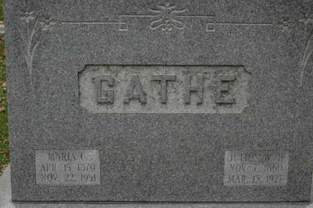 GATHE, JULIUS WH - Clinton County, Iowa | JULIUS WH GATHE