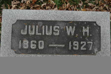 GATHE, JULIUS W H - Clinton County, Iowa | JULIUS W H GATHE