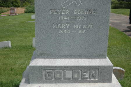 GOLDEN, MARY - Clinton County, Iowa | MARY GOLDEN