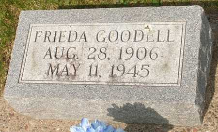 GOODELL, FRIEDA - Clinton County, Iowa | FRIEDA GOODELL
