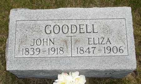 GOODELL, ELIZA - Clinton County, Iowa | ELIZA GOODELL