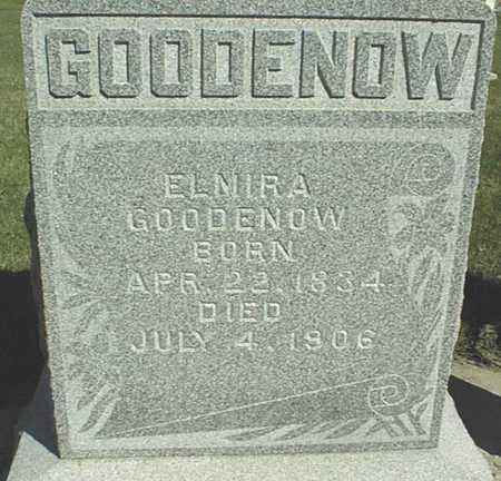 GOODENOW, ELMIRA - Clinton County, Iowa | ELMIRA GOODENOW