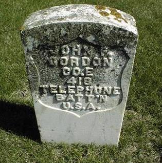 GORDON, JOHN F. - Clinton County, Iowa | JOHN F. GORDON