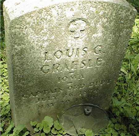 GRAESLE, CAPT. LOUIS G. - Clinton County, Iowa | CAPT. LOUIS G. GRAESLE