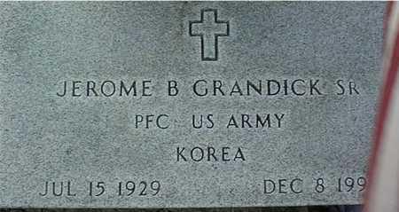 GRANDICK, JEROME B., SR. - Clinton County, Iowa   JEROME B., SR. GRANDICK