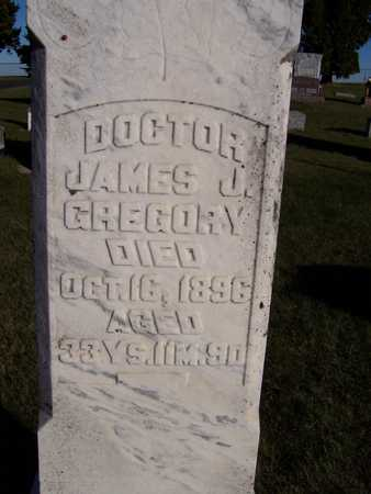 GREGORY, DR. JAMES J. - Clinton County, Iowa | DR. JAMES J. GREGORY