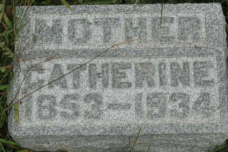 JENS GREVE, CATHERINE MATILDA - Clinton County, Iowa | CATHERINE MATILDA JENS GREVE