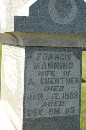 MANNING GUENTHER, FRANCIS - Clinton County, Iowa | FRANCIS MANNING GUENTHER