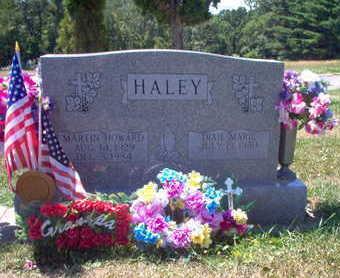HALEY, MARTIN - Clinton County, Iowa   MARTIN HALEY