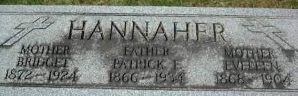 HANNAHER, EVELEEN - Clinton County, Iowa | EVELEEN HANNAHER