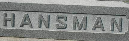 HANSMAN, FAMILY MONUMENT - Clinton County, Iowa   FAMILY MONUMENT HANSMAN