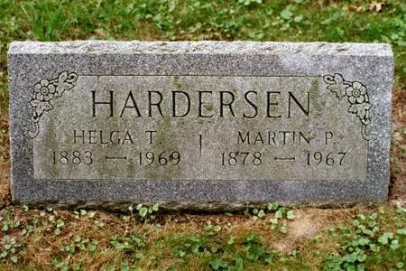 HARDERSEN, MARTIN & HELGA - Clinton County, Iowa | MARTIN & HELGA HARDERSEN