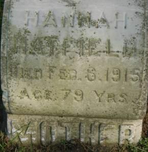 HATFIELD, HANNAH - Clinton County, Iowa | HANNAH HATFIELD