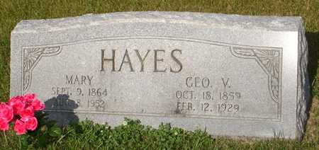 HAYES, GEORGE V. - Clinton County, Iowa | GEORGE V. HAYES