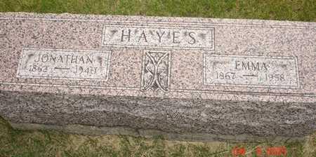 HAYES, EMMA A. - Clinton County, Iowa | EMMA A. HAYES