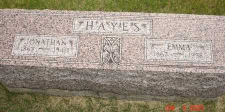 HAYES, JONATHAN - Clinton County, Iowa | JONATHAN HAYES