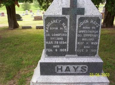 HAYS, MARGARET - Clinton County, Iowa | MARGARET HAYS