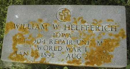 HELFFERICH, WILLIAM - Clinton County, Iowa | WILLIAM HELFFERICH