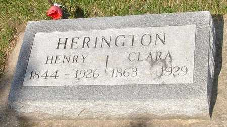 HERINGTON, HENRY - Clinton County, Iowa | HENRY HERINGTON
