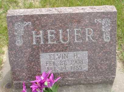 HEUER, ELVIN H. - Clinton County, Iowa | ELVIN H. HEUER