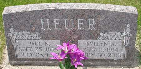 HEUER, EVELYN A. - Clinton County, Iowa | EVELYN A. HEUER