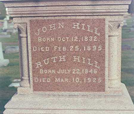 HILL, RUTH - Clinton County, Iowa | RUTH HILL
