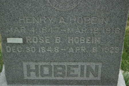 HOBEIN, ROSE B. - Clinton County, Iowa | ROSE B. HOBEIN