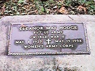 HODGE, ELEANOR MAY - Clinton County, Iowa | ELEANOR MAY HODGE