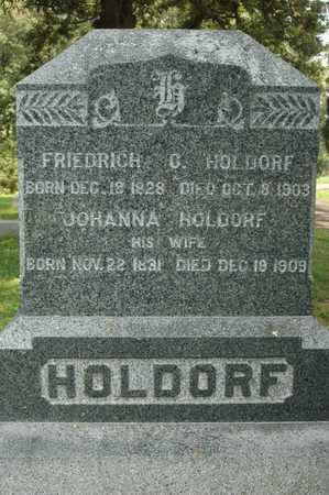 HOLDORF, FRIEDRICH C. - Clinton County, Iowa | FRIEDRICH C. HOLDORF