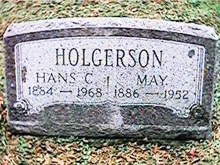 HOLGERSON, MAY - Clinton County, Iowa | MAY HOLGERSON