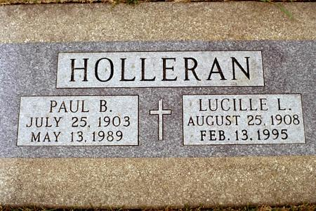 HOLLERAN, LUCILLE - Clinton County, Iowa | LUCILLE HOLLERAN