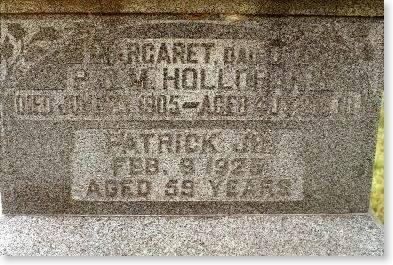 HOLLORAN, MARGARET & PATRICK - Clinton County, Iowa   MARGARET & PATRICK HOLLORAN