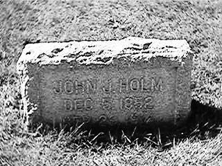 HOLM, JOHN - Clinton County, Iowa | JOHN HOLM