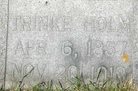 HOLM, TRINKE - Clinton County, Iowa | TRINKE HOLM