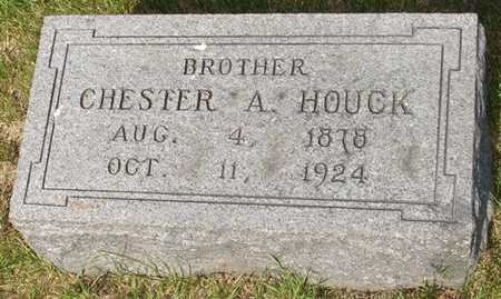 HOUCK, CHESTER A. - Clinton County, Iowa | CHESTER A. HOUCK