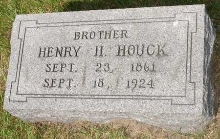 HOUCK, HENRY H. - Clinton County, Iowa | HENRY H. HOUCK
